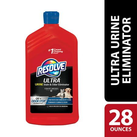 Resolve Ultra Urine Stain & Odor Eliminator For Pet Messes, (Best Carpet Cleaner For Cat Urine Odor)