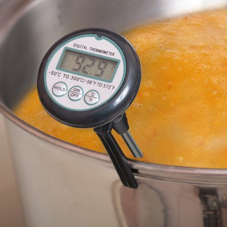 Digital Meat BBQ Food Thermometer , Liquid Candy Deep Fry Thermometer (Digital Meat Candy Thermometer)