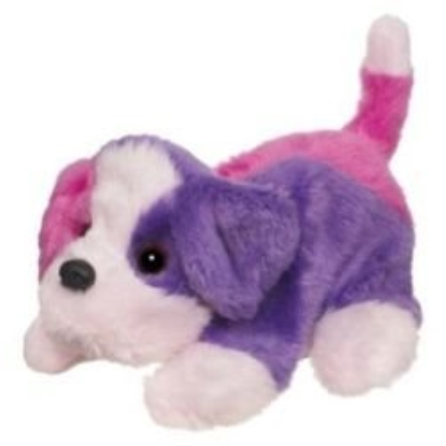 Furreal Friends Snuggimals - Pink And Purple Dog