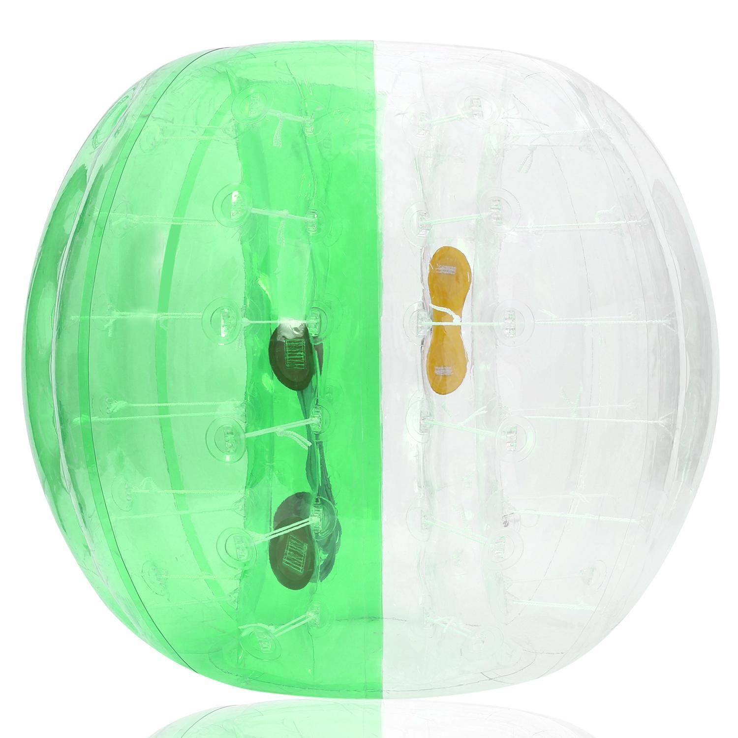 Inflatable Bumper Ball Human Knocker Ball Bubble Soccer Football Adults and Kids GOGBY by