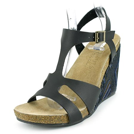 c7eb9f298be8 Coconuts By Matisse Metro Open Toe Synthetic Wedge Sandal - Walmart.com