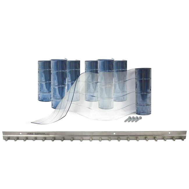 E.S. Robbins 440045 40 x 84 in. Strip Door Kits Reinforced Freezer Door Kit - image 1 de 1