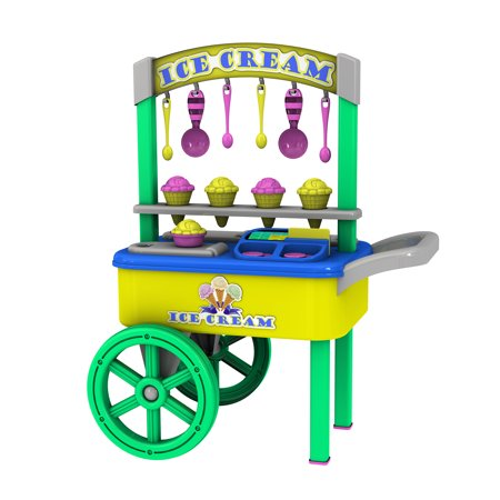 American Plastic Toys My Very Own Ice Cream Cart](Plastic Toy)