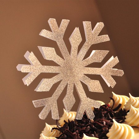 Snowflake Cake Topper Handcrafted In 1 3 Business Days Frozen