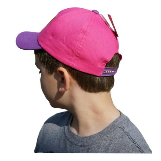90c2ab1e03f3a Kid s Disney Pixar Finding Dory Pink   Purple Baseball Cap - Adjustable  Strap