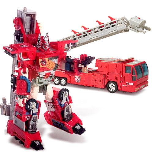 Transformers: Optimus Prime Firetruck