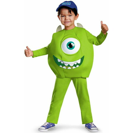 Monsters University Mike Deluxe Boys' Toddler Halloween Costume](Monster University Costumes)