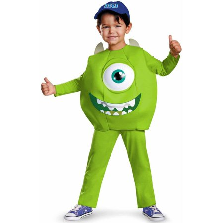 Monsters University Mike Deluxe Boys' Toddler Halloween Costume - Mike Patton Halloween