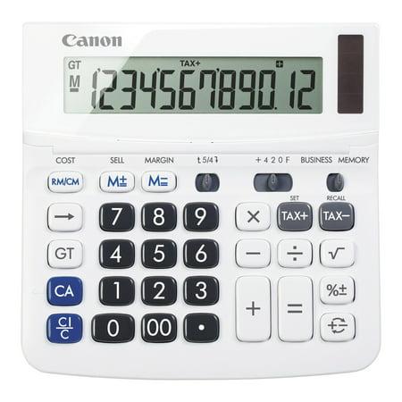 Canon TX-220TSII Portable Display Calculator, 12-Digit,