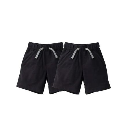 Black Shorts, 2 pack (Toddler Boys)