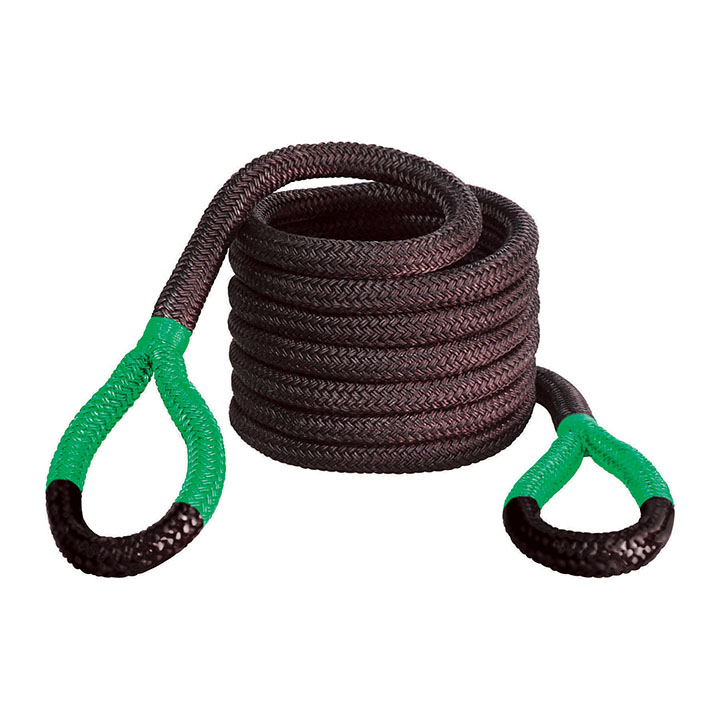 "Bubba Rope 1 1/2""x30' Jumbo Bubba Green Eyes Towing Rope"