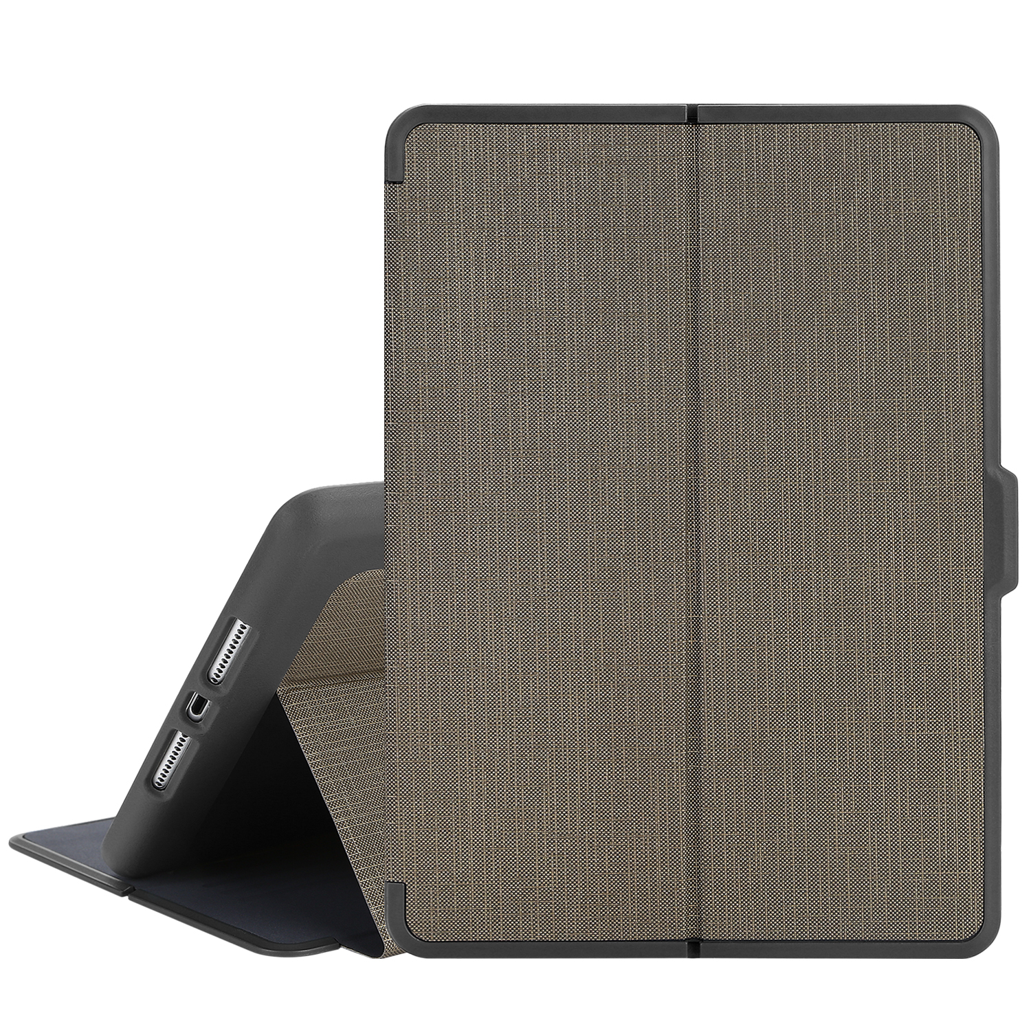 """TKOOFN Heavy Duty Rugged Shockproof Protective Tablet Case Smart Cover PC+TPU for Apple New iPad 2017 9.7""""/iPad Air/Air2"""