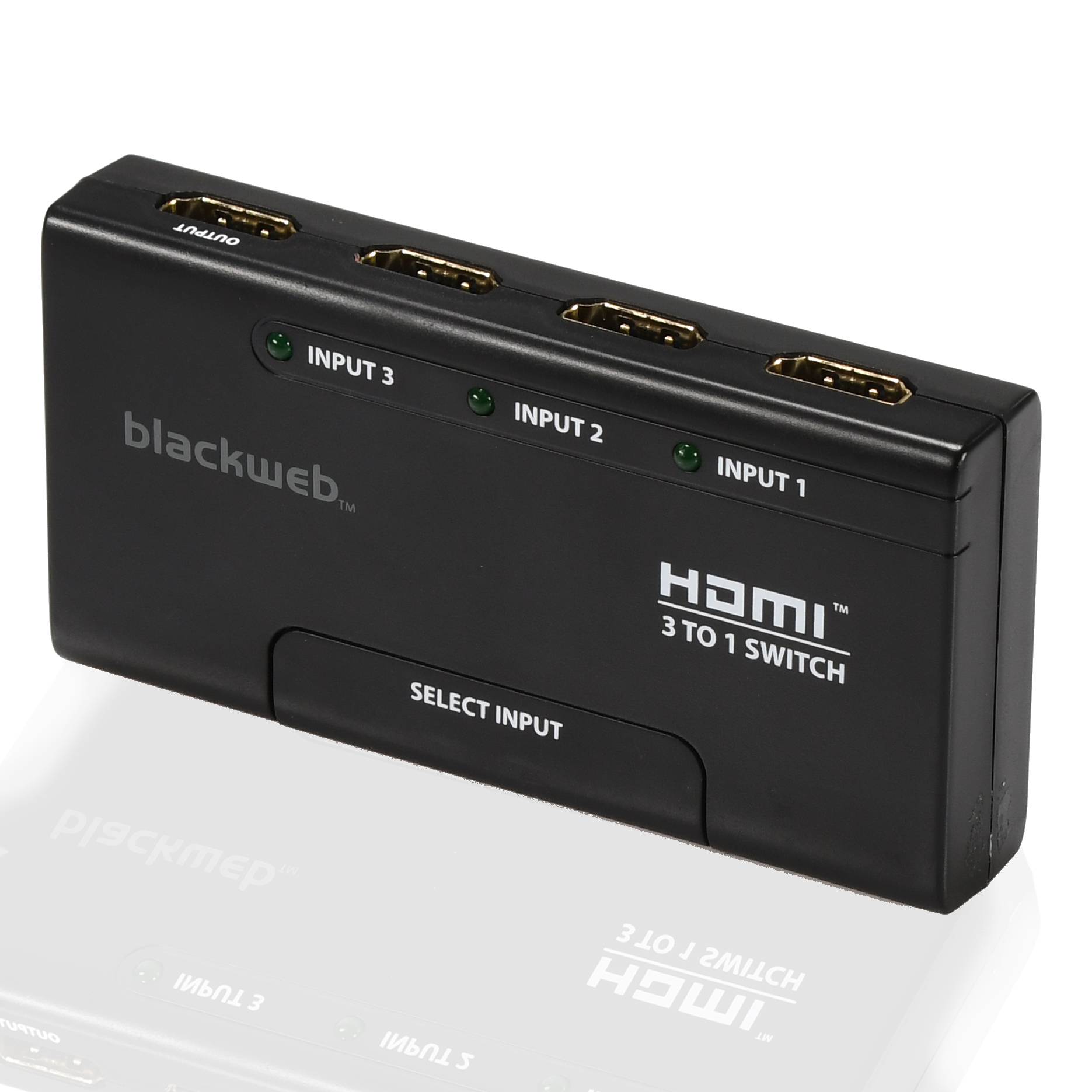 Blackweb 3 Device Hdmi Switch With Remote Control R C For Radio Applications
