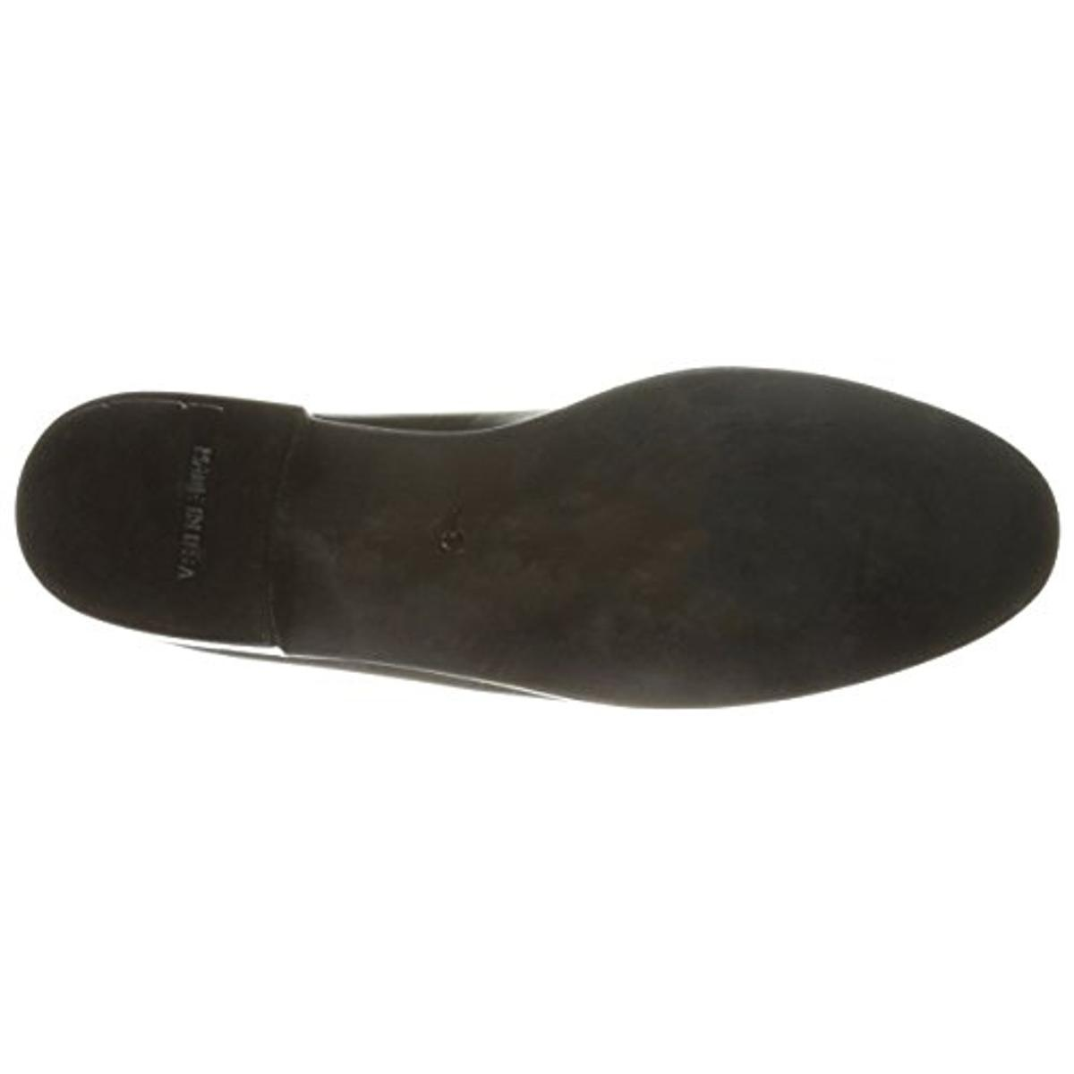 N.Y.L.A. Womens Leather Slip On Loafers