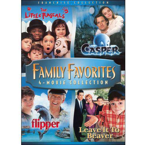 Family Favorites 4-Movie Collection: The Little Rascals / Casper / Flipper / Leave It To Beaver