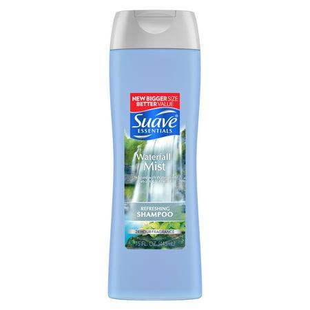 Suave Essentials Waterfall Mist Shampoo 15 oz (Best Shampoo For Hair Fall And Hair Growth)