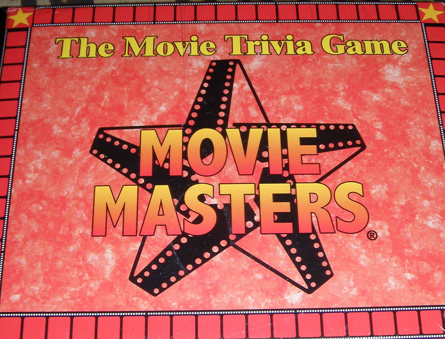 The Movie Trivia Game:movie Masters, Trivia cards By Fahey Fun Games by