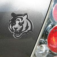 Cincinnati Bengals Premium Metal Auto Emblem