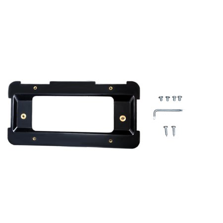 - One New Aftermarket Replacement Rear License Plate Holder Bracket BMW Models