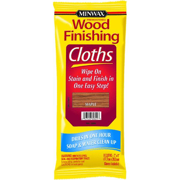 Minwax Wood Stain & Finish Wipes