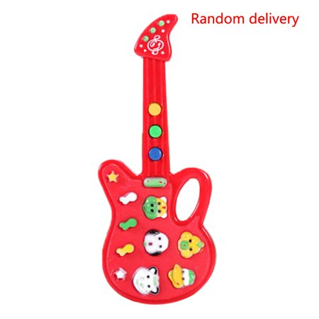 JOYFEEL Clearance 2019 Children Electronic Guitar Sounds Toy Nursery Rhyme Best Toy Gifts for Children