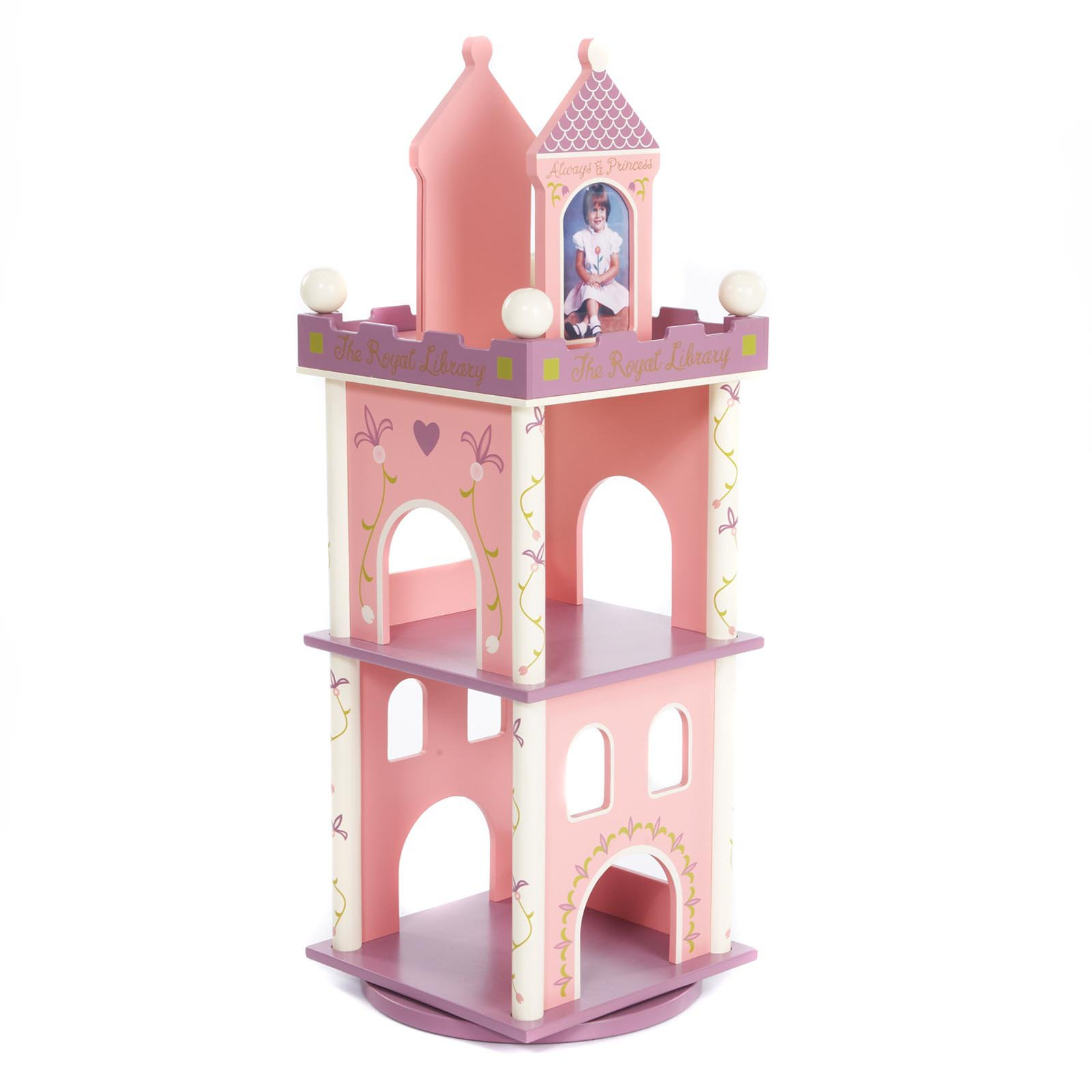 Wildkin Princess Revolving Bookcase