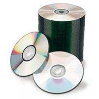 100 Spin-X 12X Digital Audio Music CD-R 80min 700MB Shiny Silver