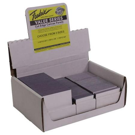 Fredrix Mini Cut Edge Panels, White, Pack of 180 ()