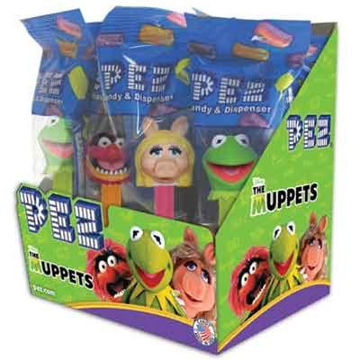 Muppets Assortment .58 oz., 12 Pez/Display