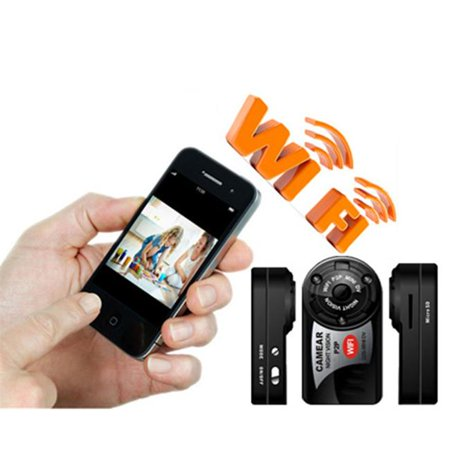 Ankaka A51231 P2P 480P Wi-Fi Mini camera camcorders DVR Night Vision Sport DV Wireless Wi-Fi IP Web Camera camcorder with 5 LED Motion