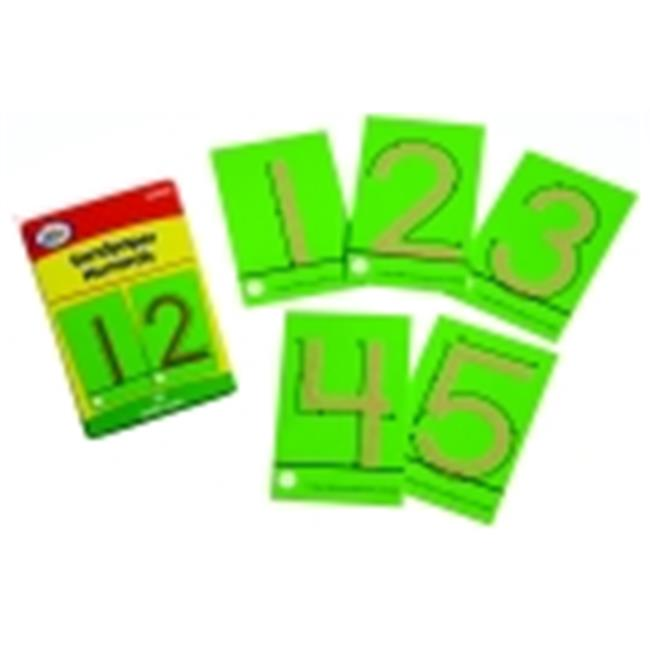 Didax Tactile Sandpaper Numbers Cards
