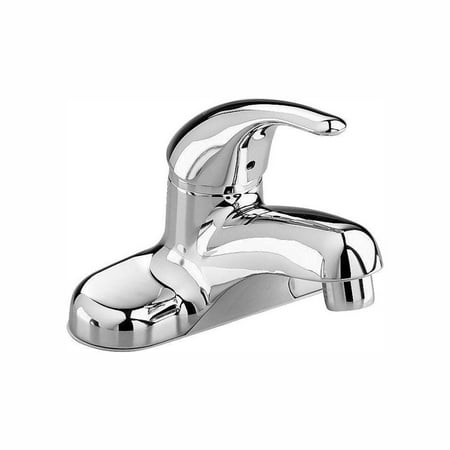American Standard Colony Soft Centerset Single-Handle Bathroom Faucet with Grid Drain in Chrome Magellan Chrome Polished Faucet