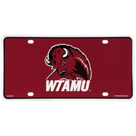 Rico Industries West Texas A&M University Buffalo License (New Texas License Plates)