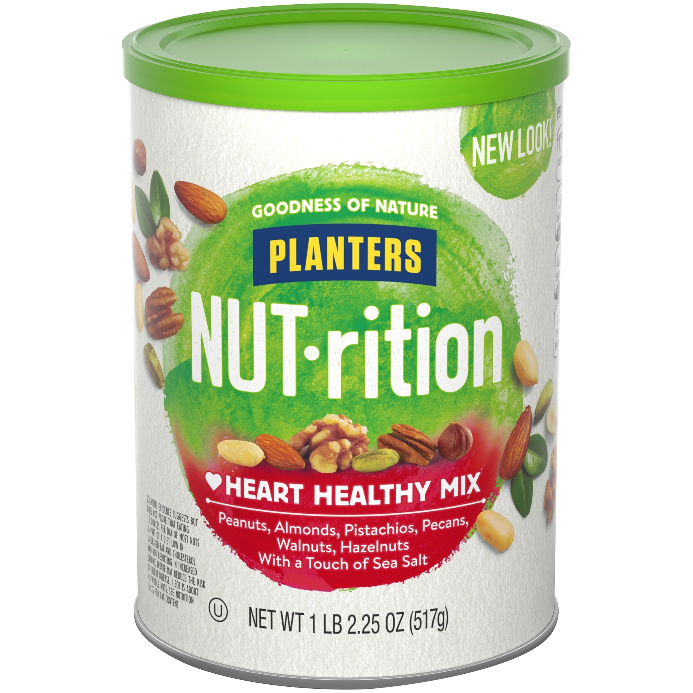Planters NUT-rition Heart Healthy Mix 1.14 lb. Canister