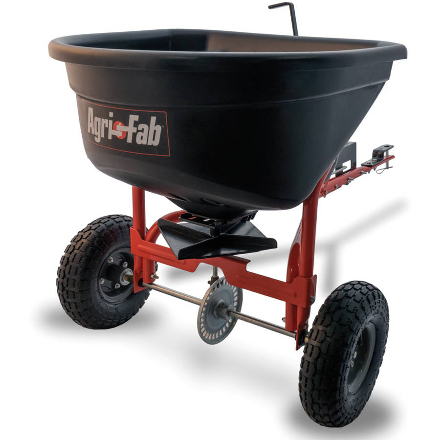 Agri-Fab, Inc. 110 lb. Broadcast Tow Behind Spreader Model 45-0527