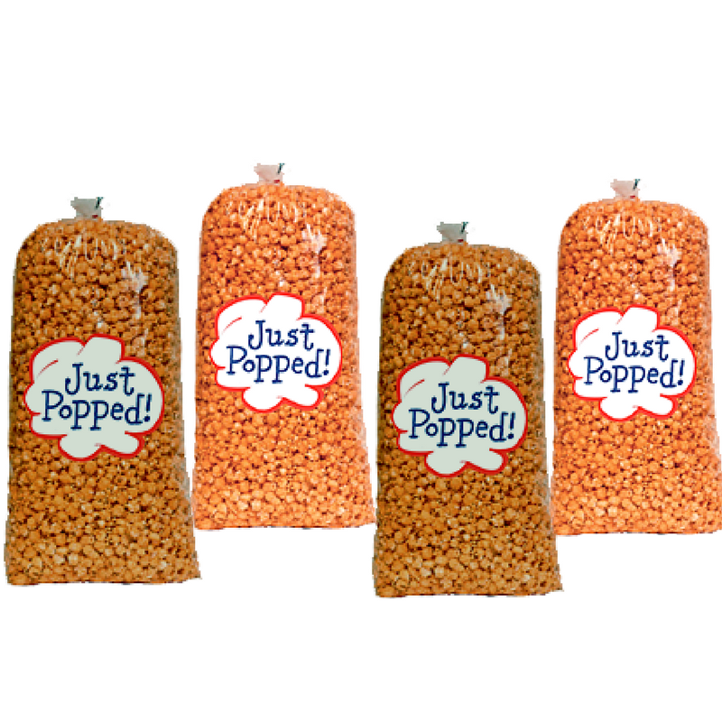 Just Popped Chicago Style Cheese and Caramel Gourmet Popcorn 4-Pack (72 Cups per Case) JP130