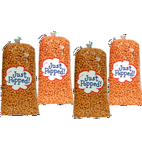 Just Popped Chicago Style Cheese and Caramel Gourmet Popcorn 4-Pack (72 Cups per Case)