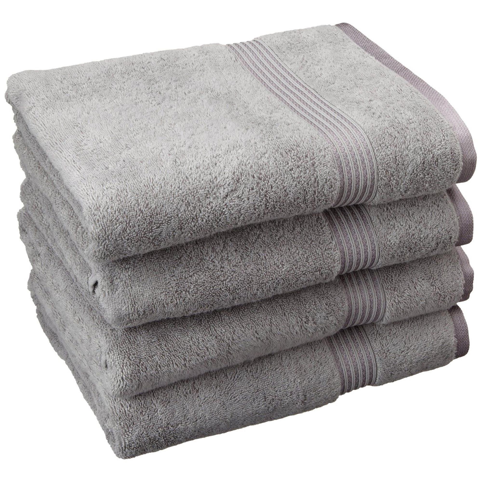 Superior 600GSM Egyptian Quality Cotton 4-Piece Bath Towel Set