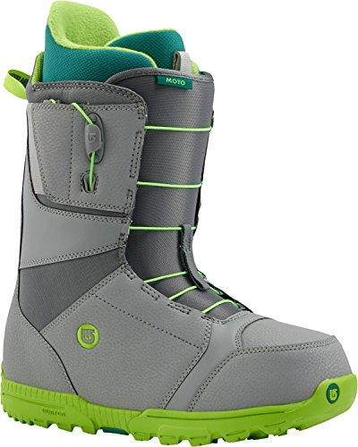 Burton Men's Moto Snowboard Boots, Grey/Green