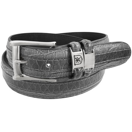 Stacy Adams Belts Stacy Adams 35mm Tri-Leather Embossed, Croc, Lizard, Snake Belt