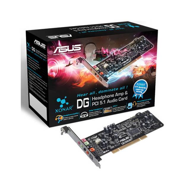 Asus Xonar DG PCI 5.1 Channel Sound Card