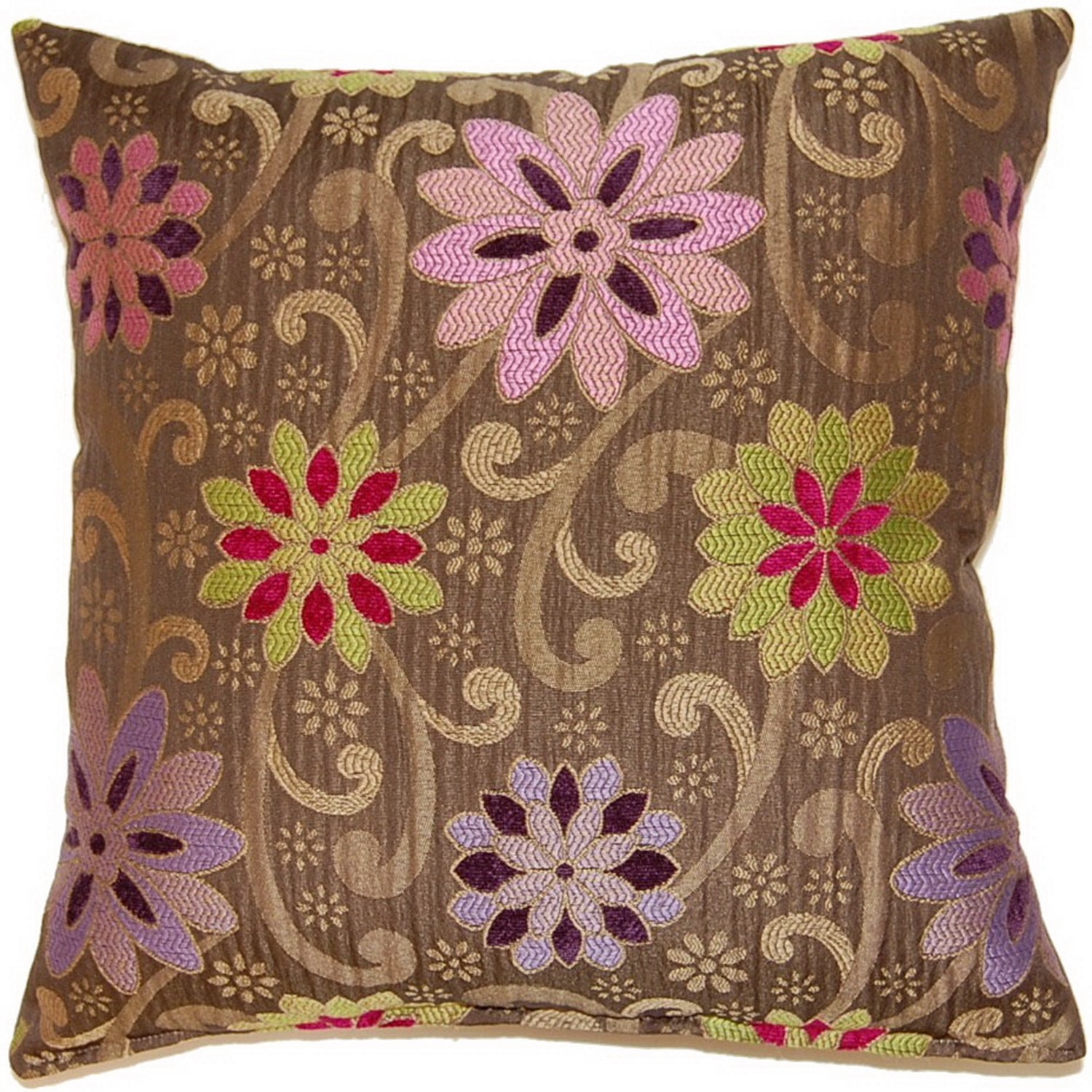 Fox Hill Trading Kaleidoscope Multi 17-inch Throw Pillows (Set of 2)