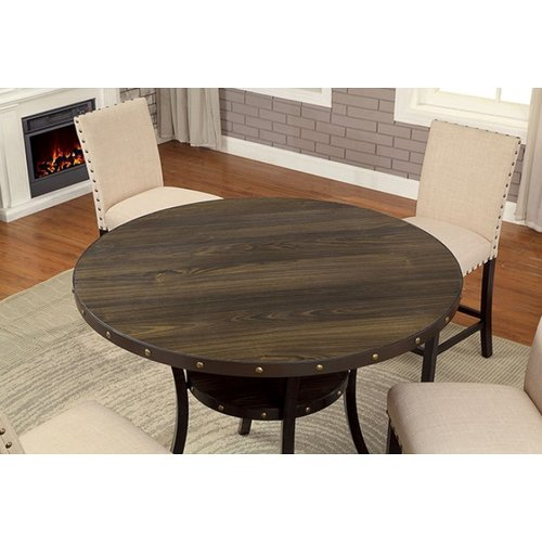 Alcott Hill Rigby Round Counter Height Dining Table