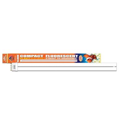 Coralife 10000K Daylight Straight Pin Base Compact Fluorescent Lamp 65 Watt 21 Inch