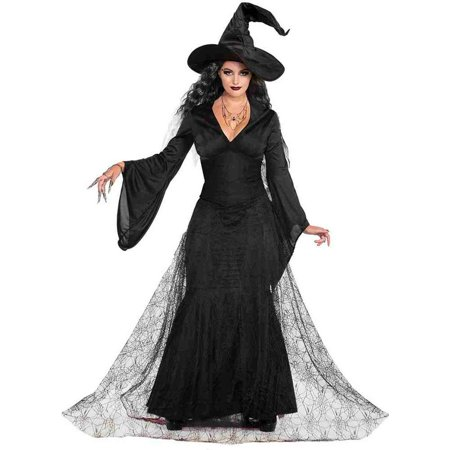 Black Mist Witch Adult Costume