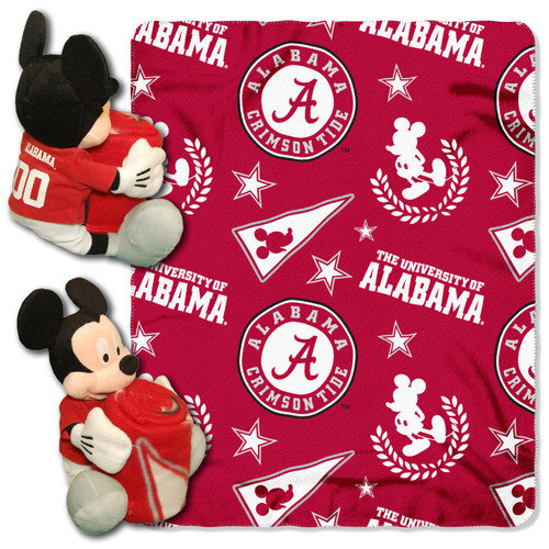 alabama mickey mouse pillow throw combo walmartcom