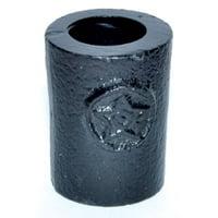 """1 1/4"""" Pentagram cast iron chime holder"""