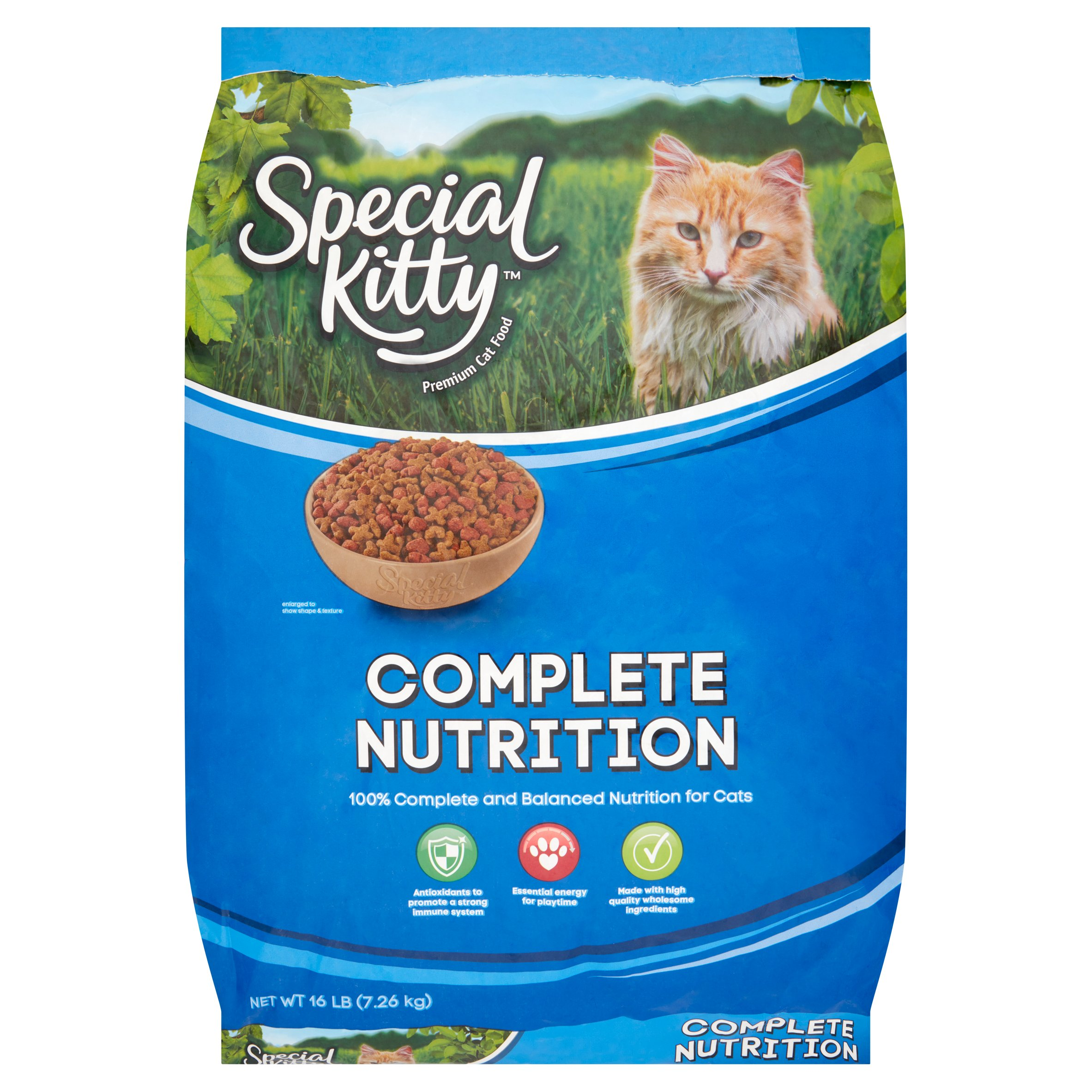 Special Kitty Complete Nutrition Formula Dry Cat Food (Various Sizes)