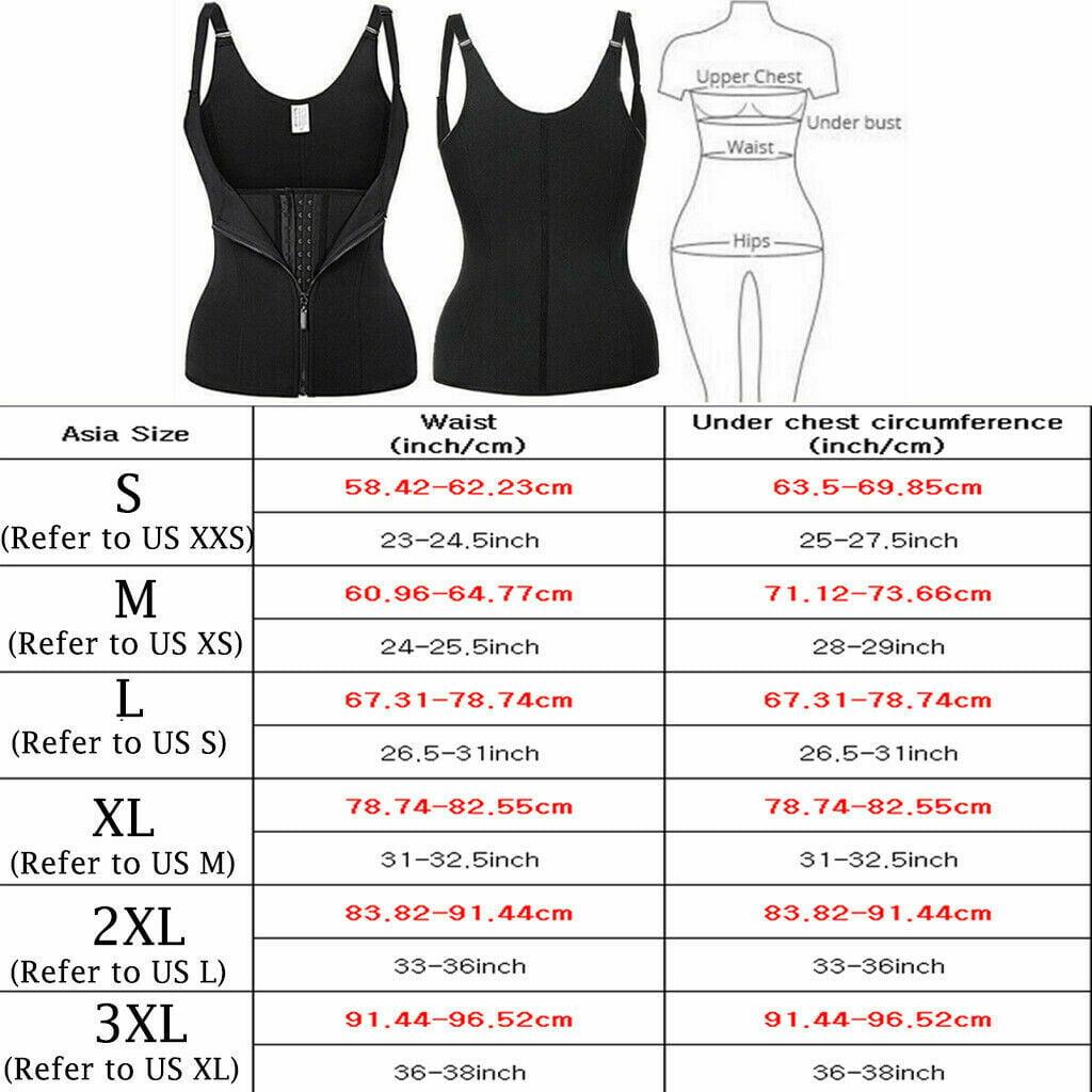 Women Body Shaper Shapewear Waist Training Trainer Cincher Underbust Corset Vest