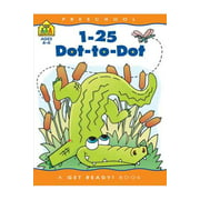 1-25 Dot-To-Dot : Preschool